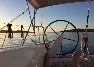 13.05.17 | Ruhe und Entspannung in der Muline-Bucht auf der Insel Ugljan