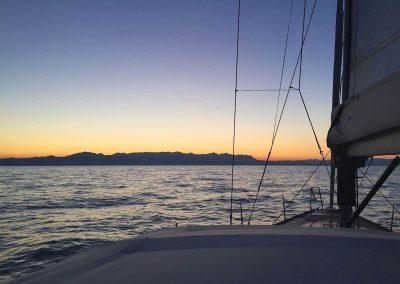 17.05.17 | Sonnenaufgang und Montenegro in Sicht