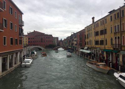 Venedig in einer Regenpause