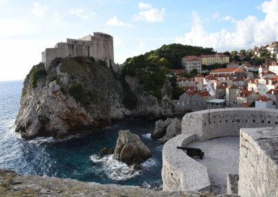 Dubrovnik - Rundgang auf der alten Stadtmauer
