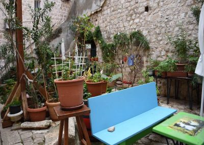 Innenhof-Idylle in der Altstadt von Dubrovnik