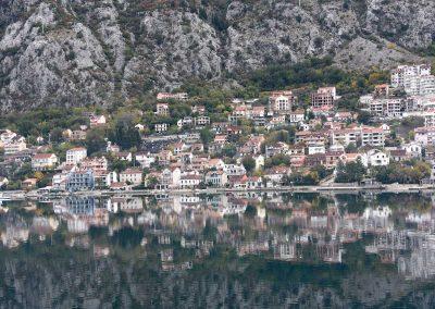 Bucht von Kotor - so ruhig kann das Meer sein