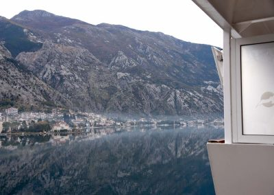 Morgennebel über Kotor