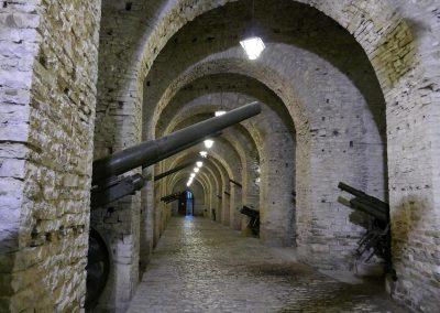 Die mittelalterliche Festung Gjirokastra