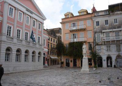 Kerkyra - Hauptstadt von Korfu