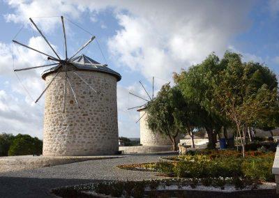 Die Windmühlen von Alaçati