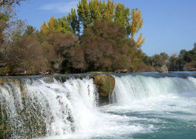 Manavgat-Fluss - fast wie in der Schweiz