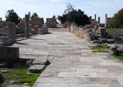 Die histrorische Ausgrabungsstätte Kourion