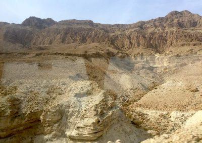 Auf der Fahrt von Haifa ans Tote Meer