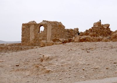 Die historischen Festungsstadt Masada