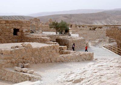 Masada und was übrig geblieben ist