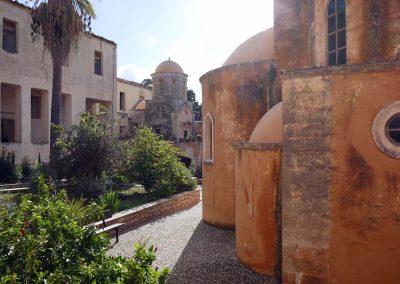Agia Triada - unübersehbar die venezianischen Einflüsse