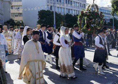 Grosses Fest - die Einheimischen feiern «Maria Tempelgang»