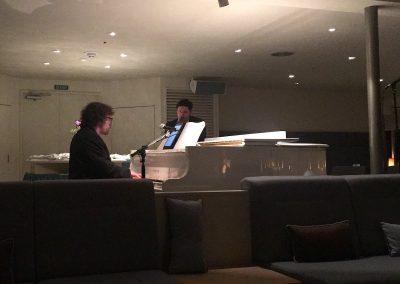 Jazz in der Vista-Lounge - Adriano am Piano & Max am Sax