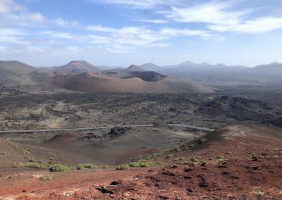 Einer Mondlandschaft ähnlich - der Timanfaya Nationalpark