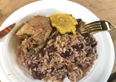05.02.20 | Reis mit Bohnen und Huhn